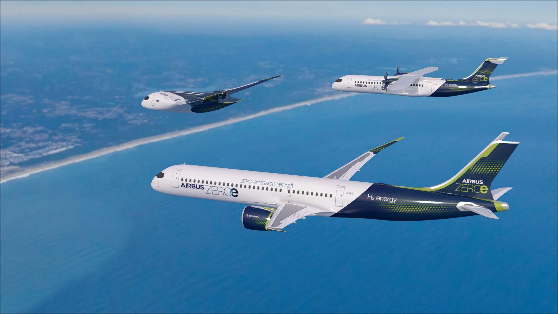Airbus Zeroe Concepts Air