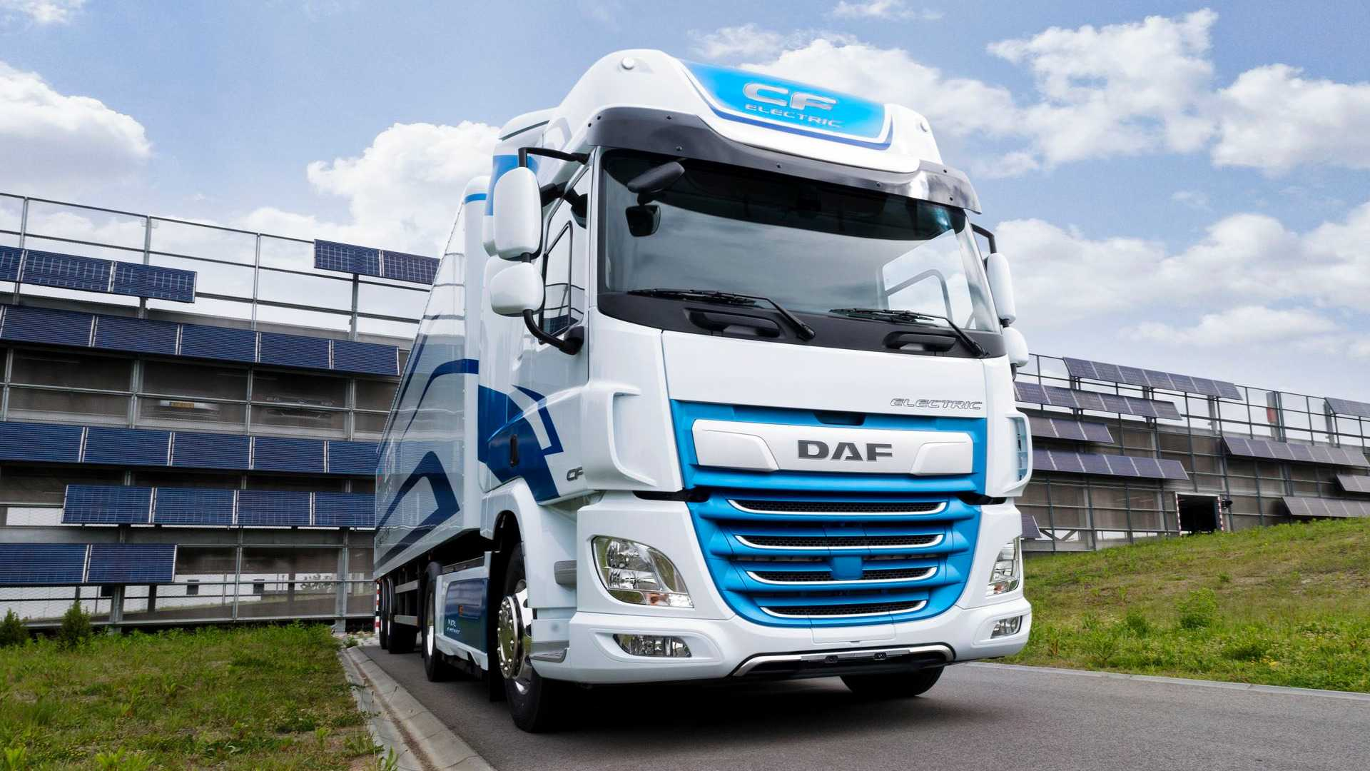 DAF Cf Electric Front