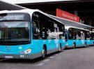20 autobuses eléctricos más de Irizar circularán por las calles de Madrid