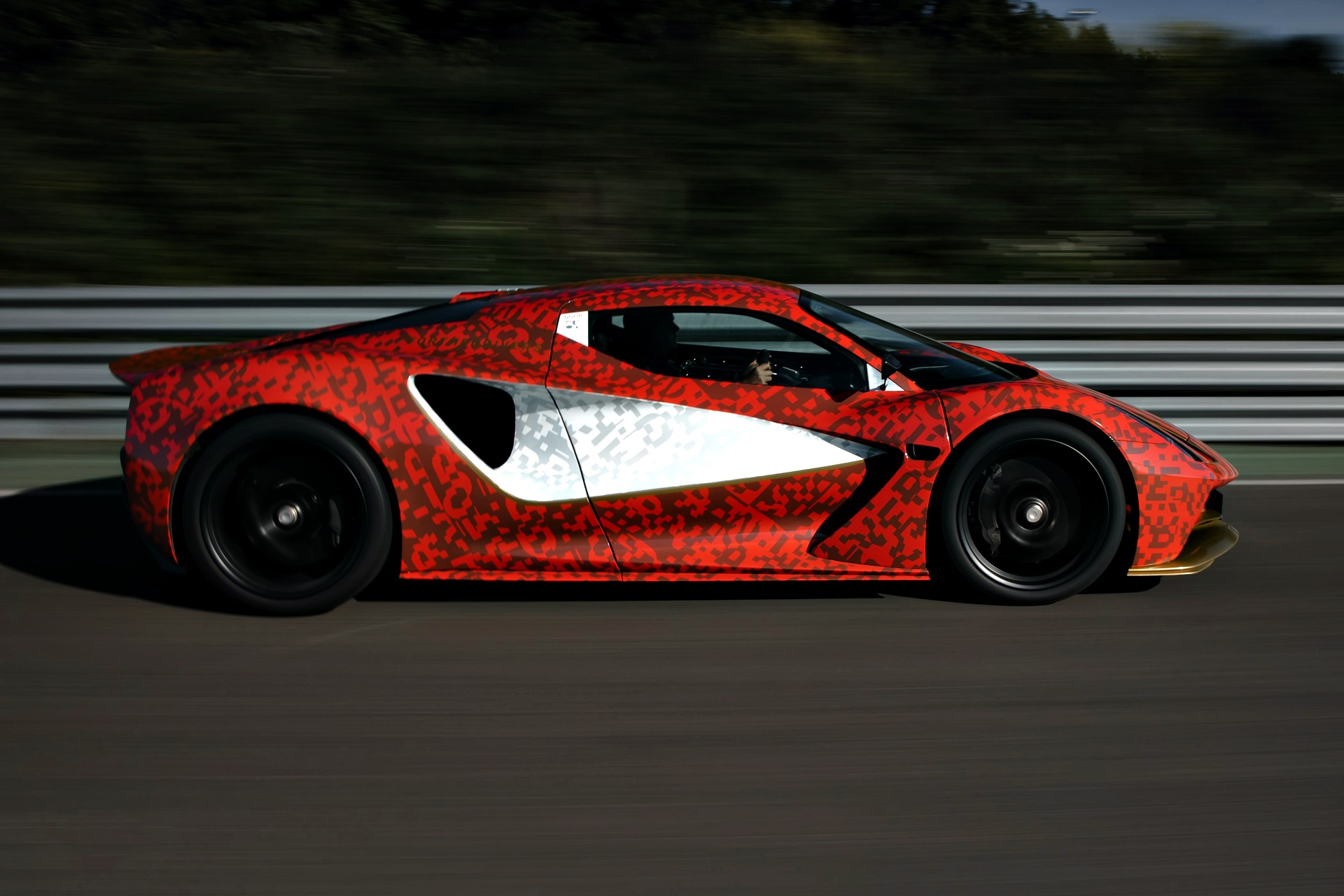 Lotus Evija Development Car 1