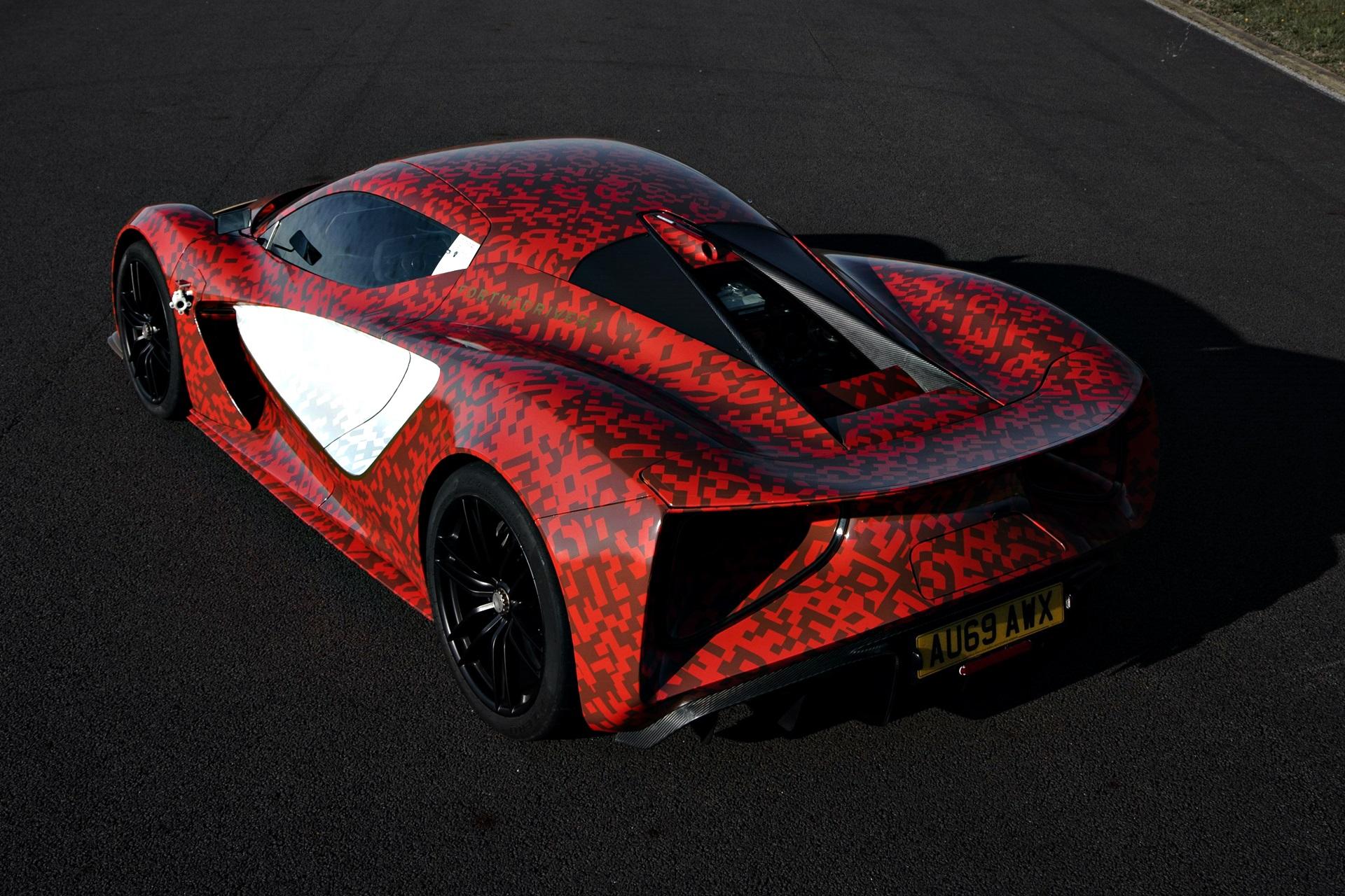 Lotus Evija Development Car 4