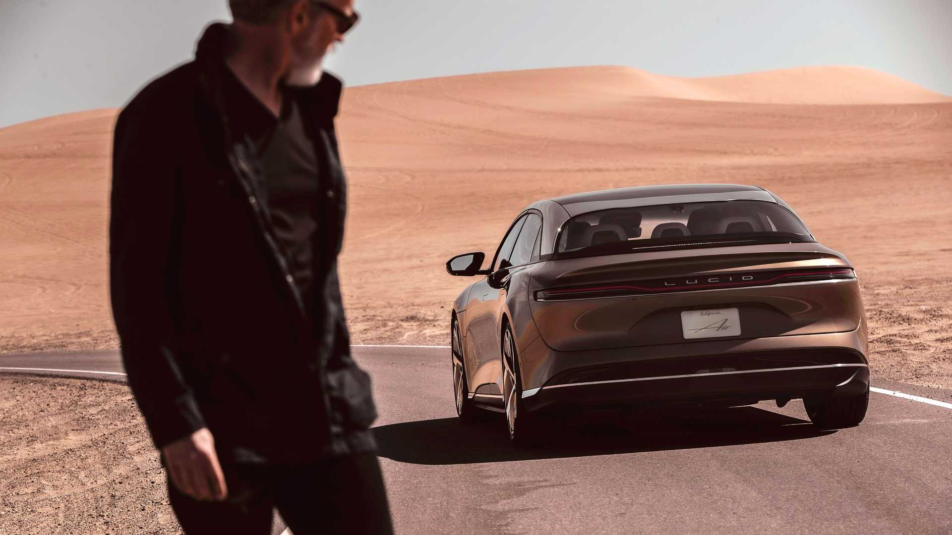 Lucid Air Dream Edition Back