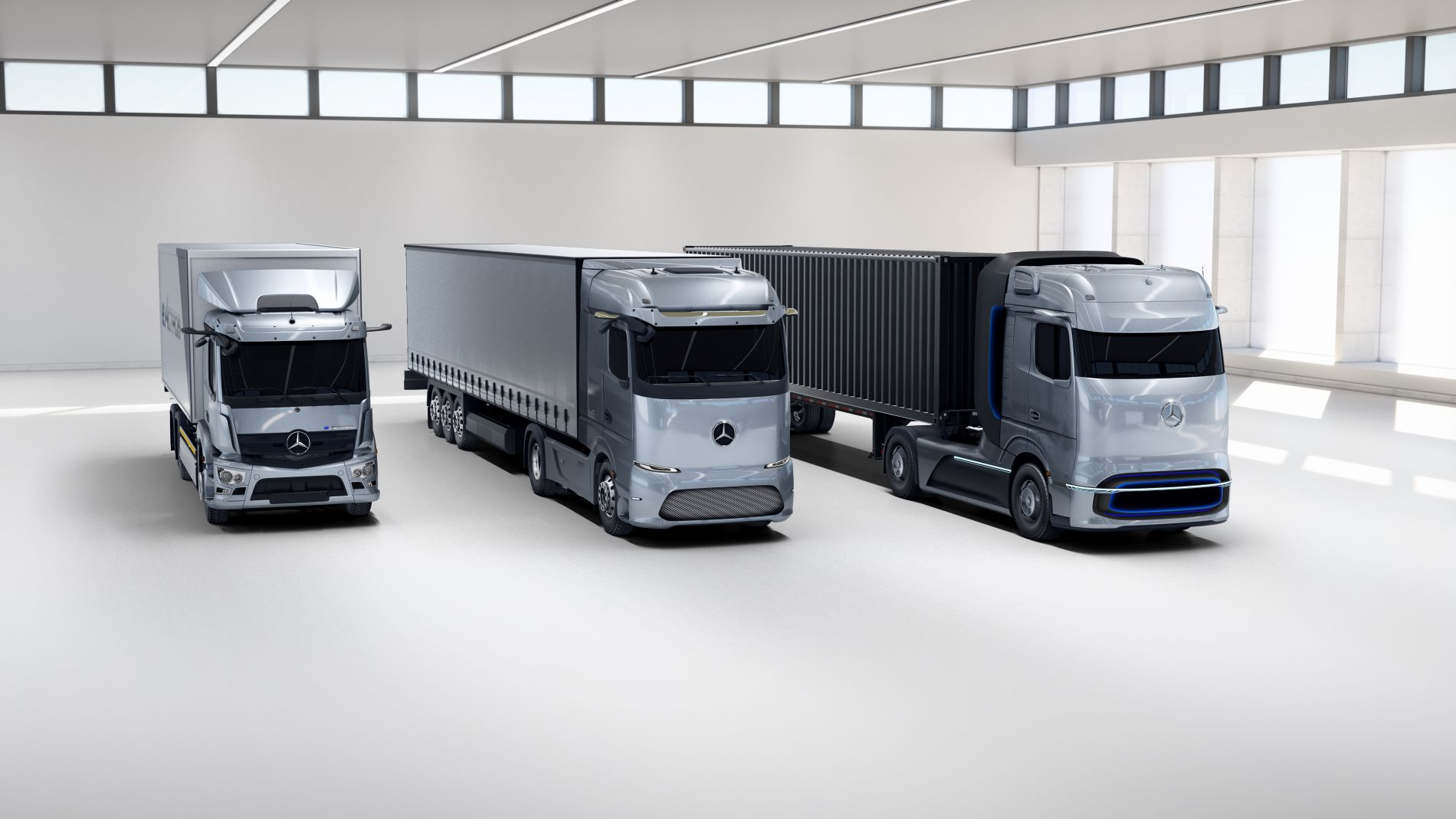 Mercedes Benz Electricfication Trucks