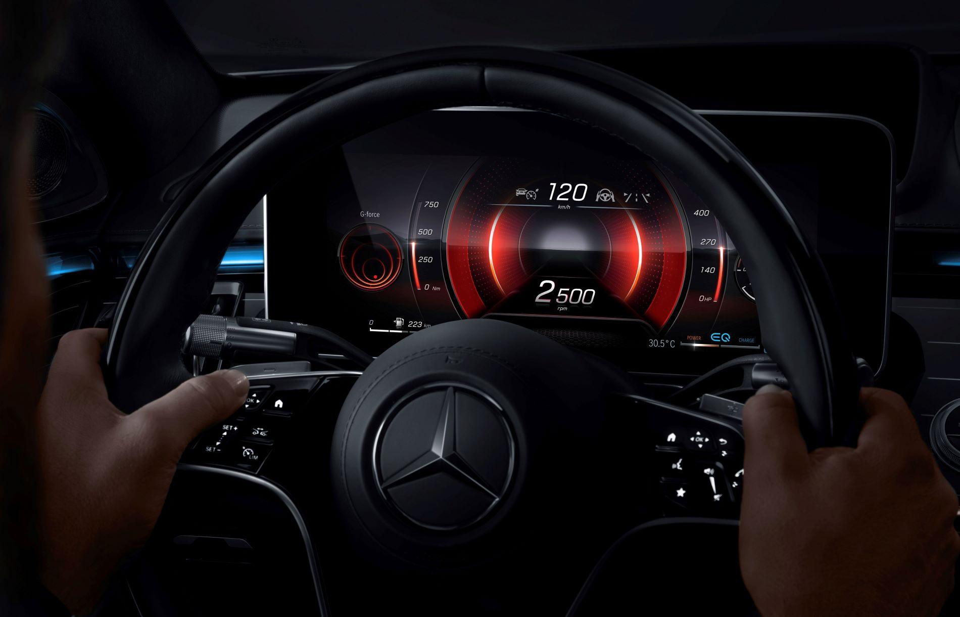 Mercedes Benz S Class Driving Wheel