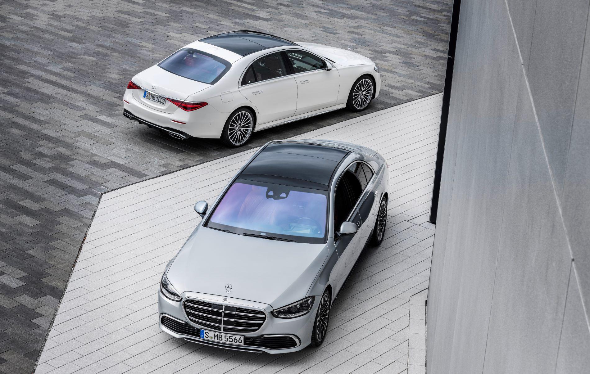 Mercedes Benz S Class View