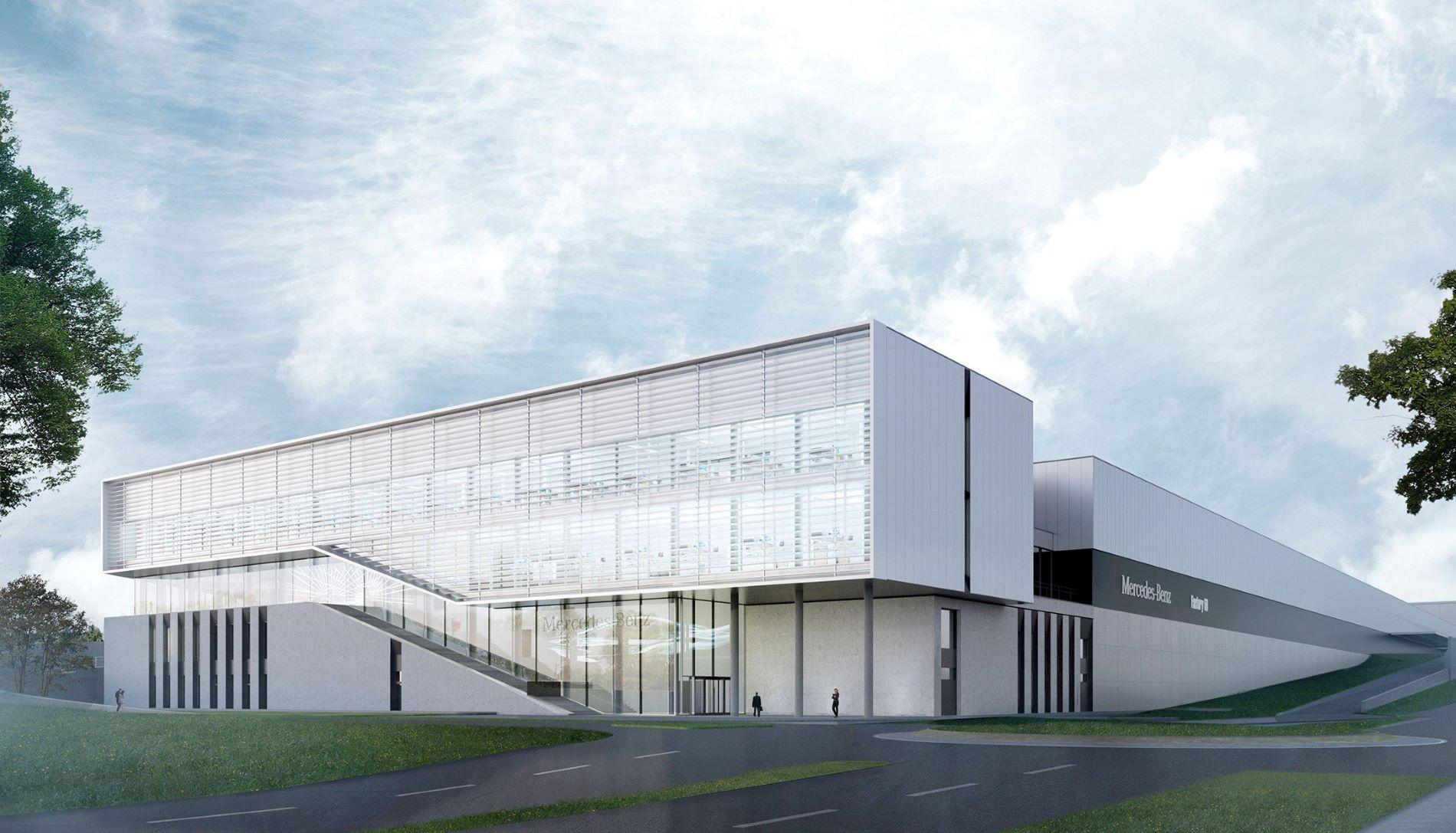 """Así es la nueva """"Factory 56"""" de Mercedes-Benz en Sindelfingen"""