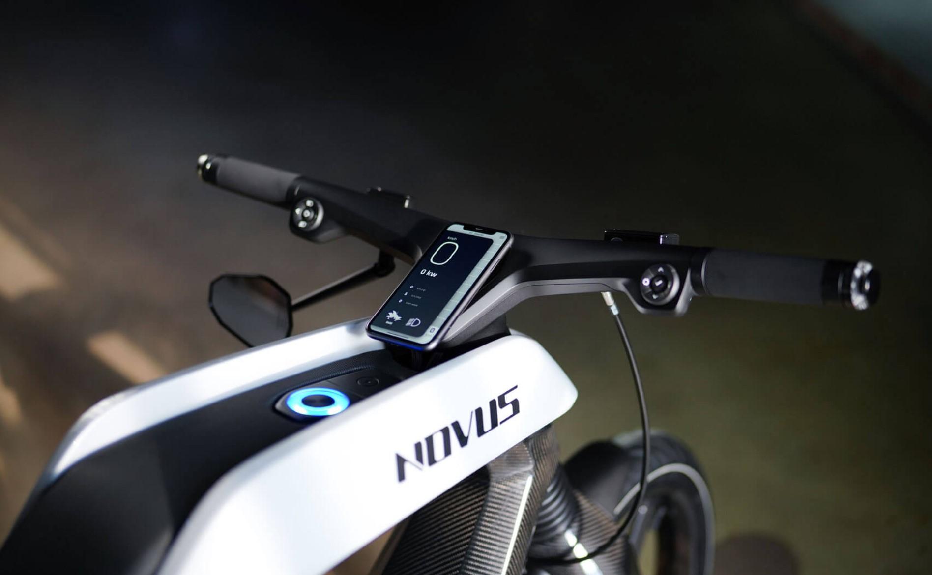 Novus Electric Bike Smartphone App