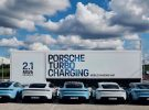 Así es el Sistema de Recarga Móvil que Porsche utiliza en eventos con el Taycan