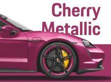 Porsche Taycan Cherry Metallic