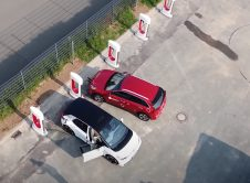 Volkswagen Id 3 Supercharger Germany Aerial