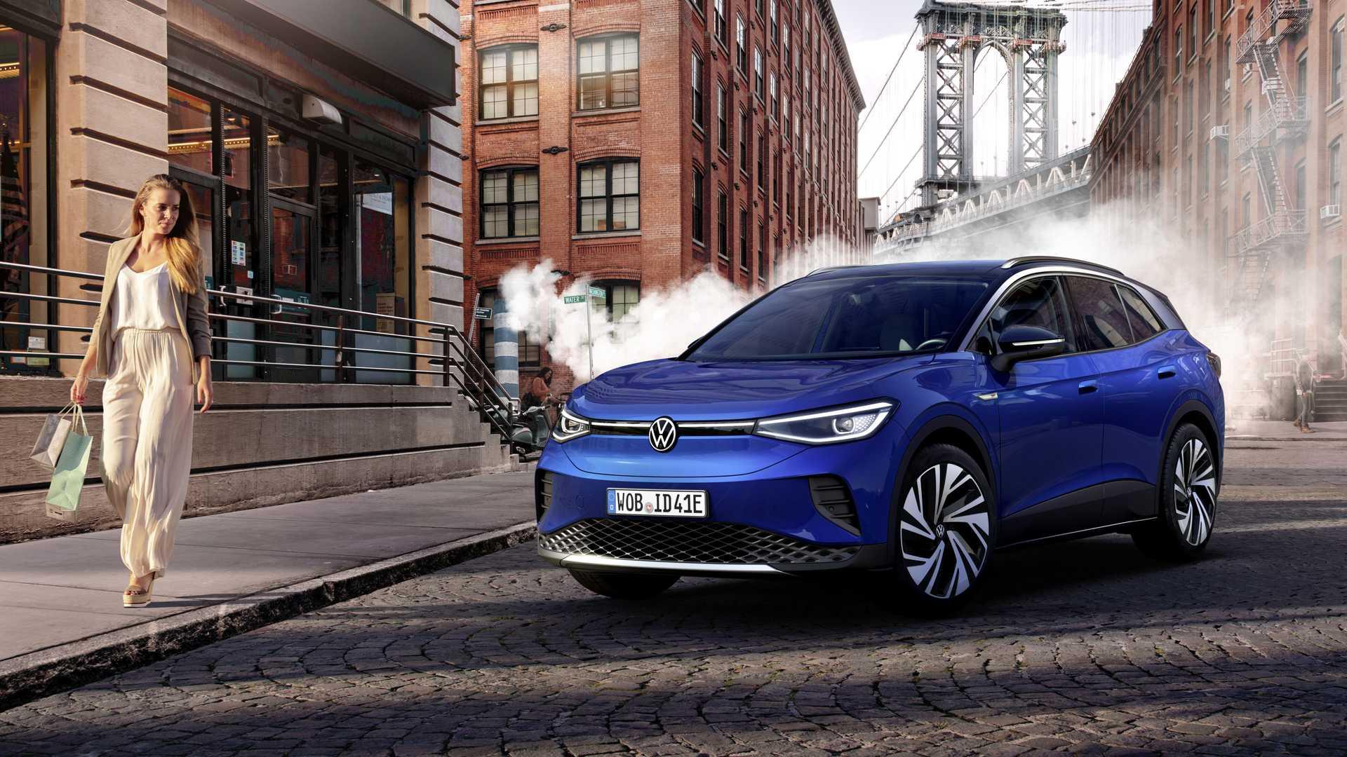 Volkswagen Id4 1st Blue Street