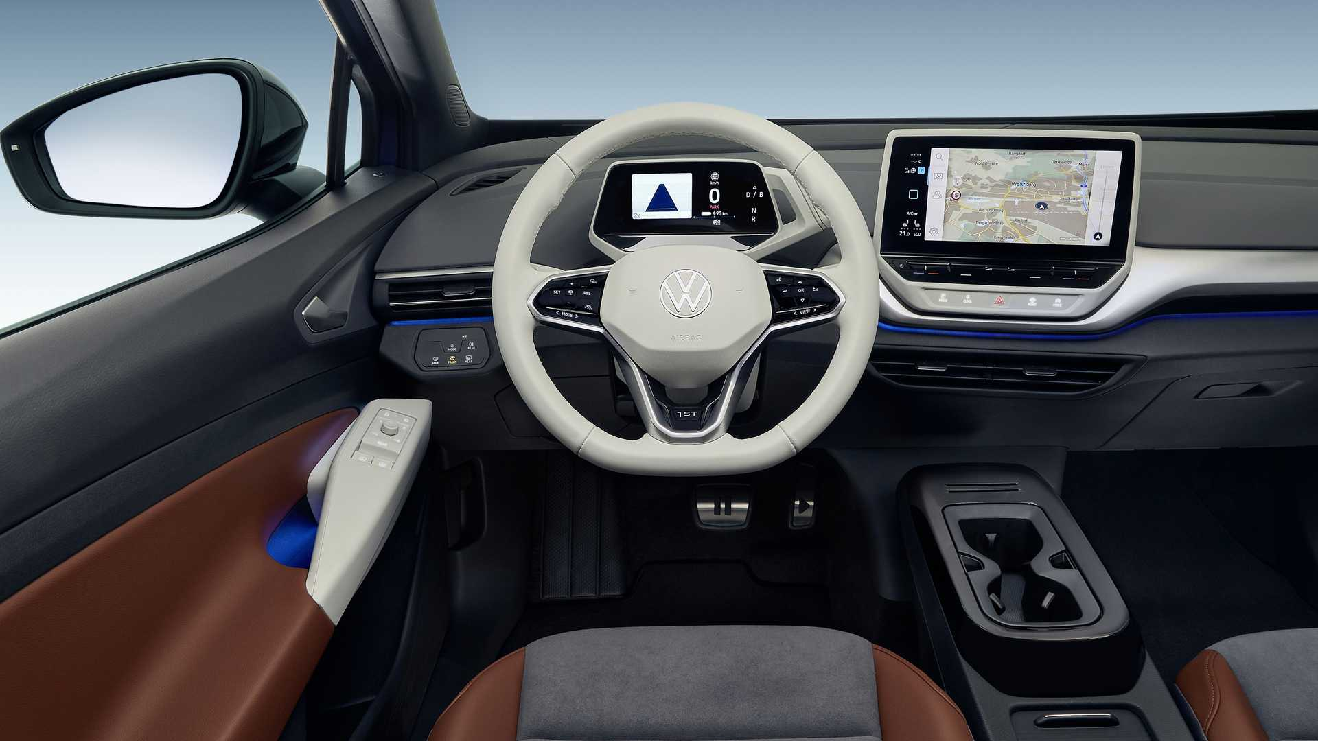 Volkswagen Id4 1st Interior