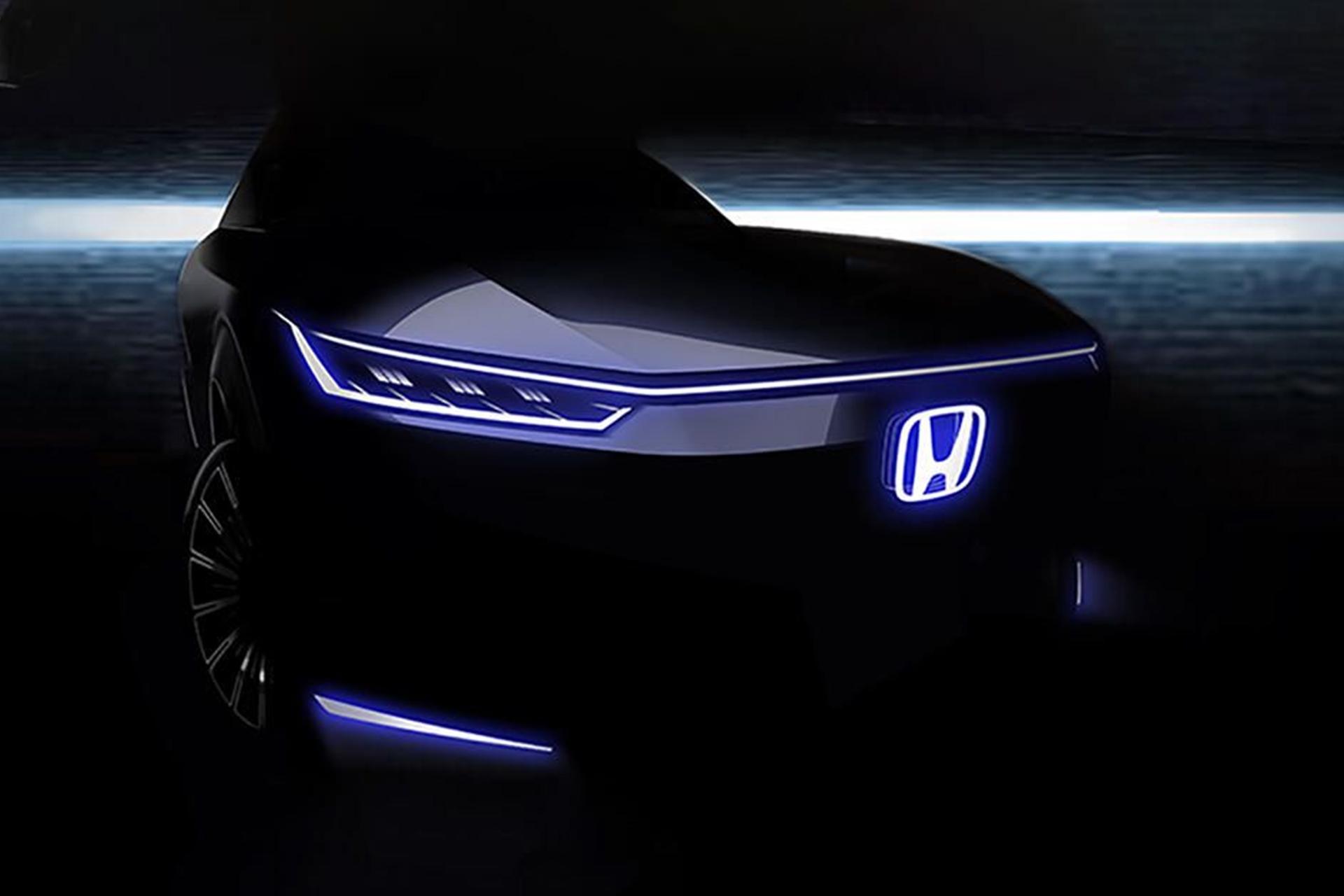 Honda Concept Car Ev Pekin