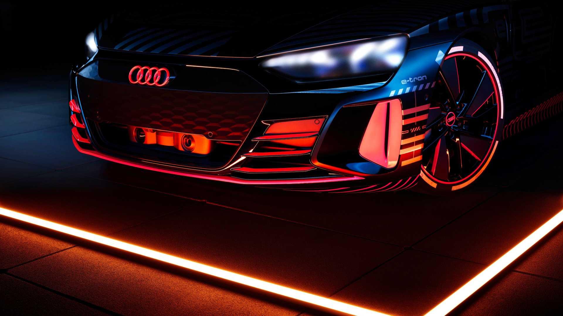 Audi E Tron Gt Prototype Front