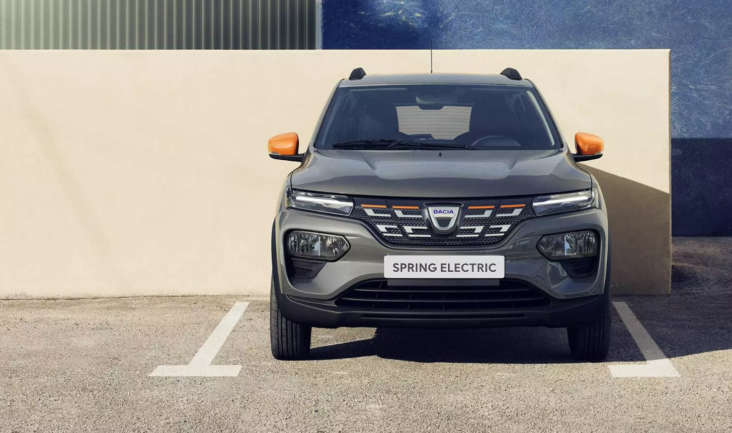 Dacia Spring Electric Front View