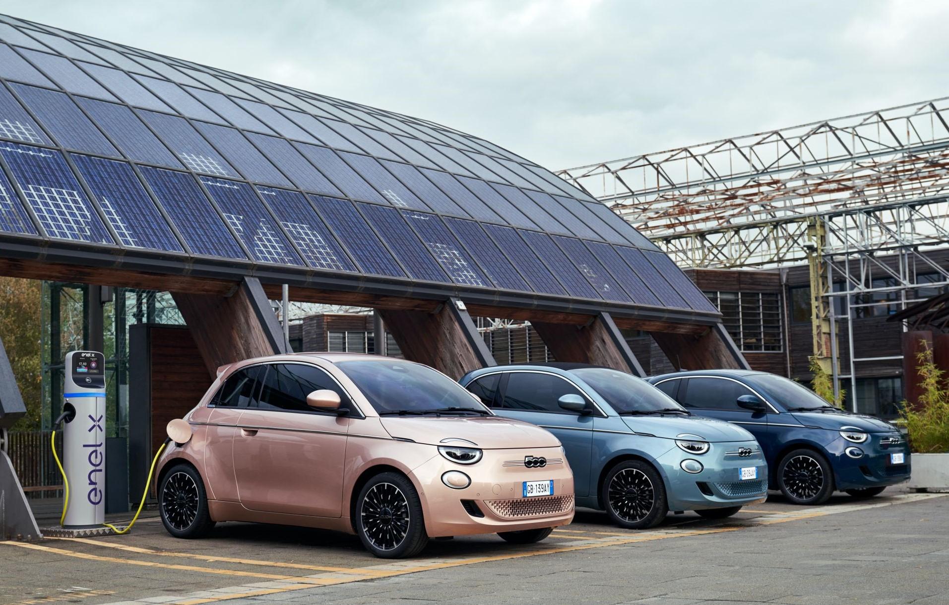 Fiat 500 2021 Lineup