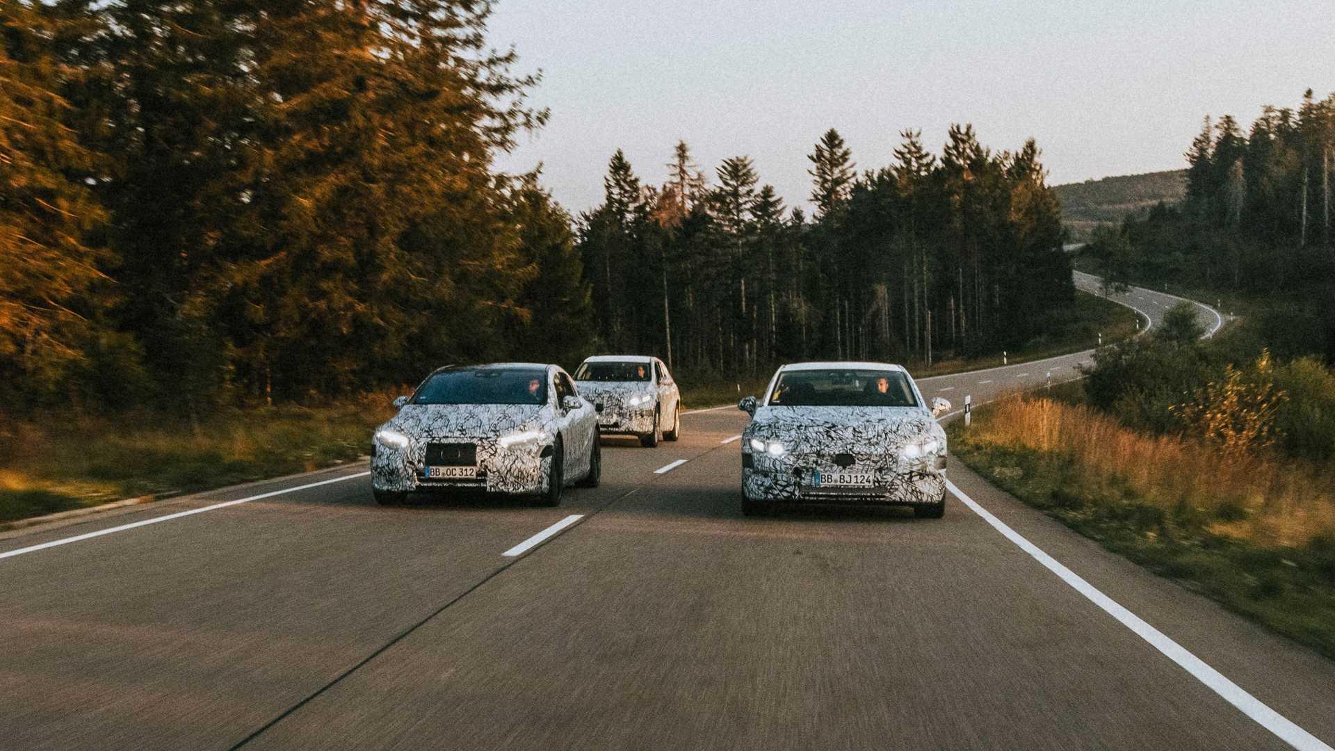Mercedes Benz Eq Tests