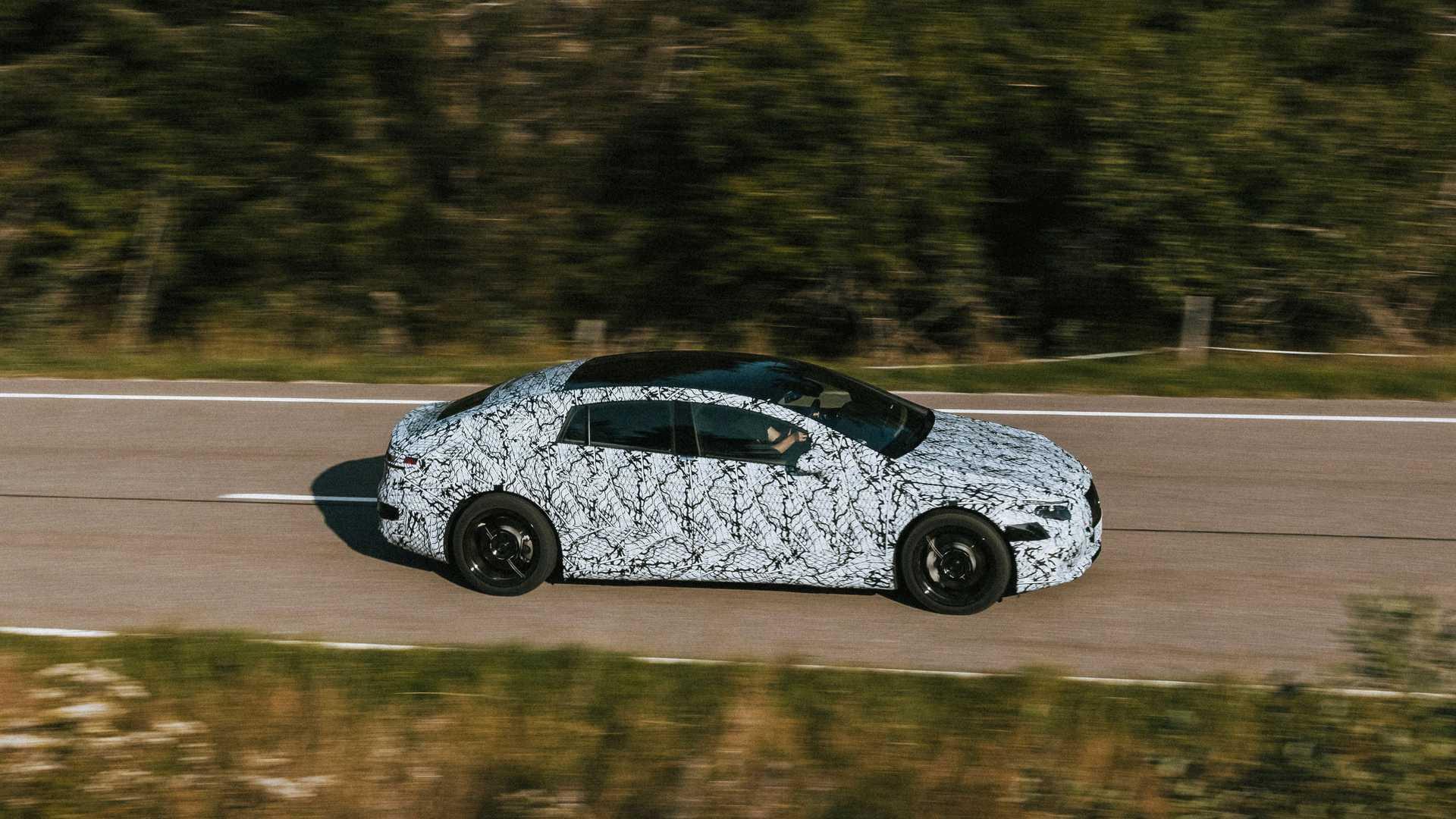 Mercedes Benz Eqs Concept