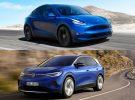 Tesla Model Y o Volkswagen ID.4: duelo de moda pero ¿cuál es mejor?