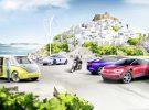 La isla griega de Astypalea se propone como ejemplo de la sostenibilidad y cuenta con Volkswagen para su fin