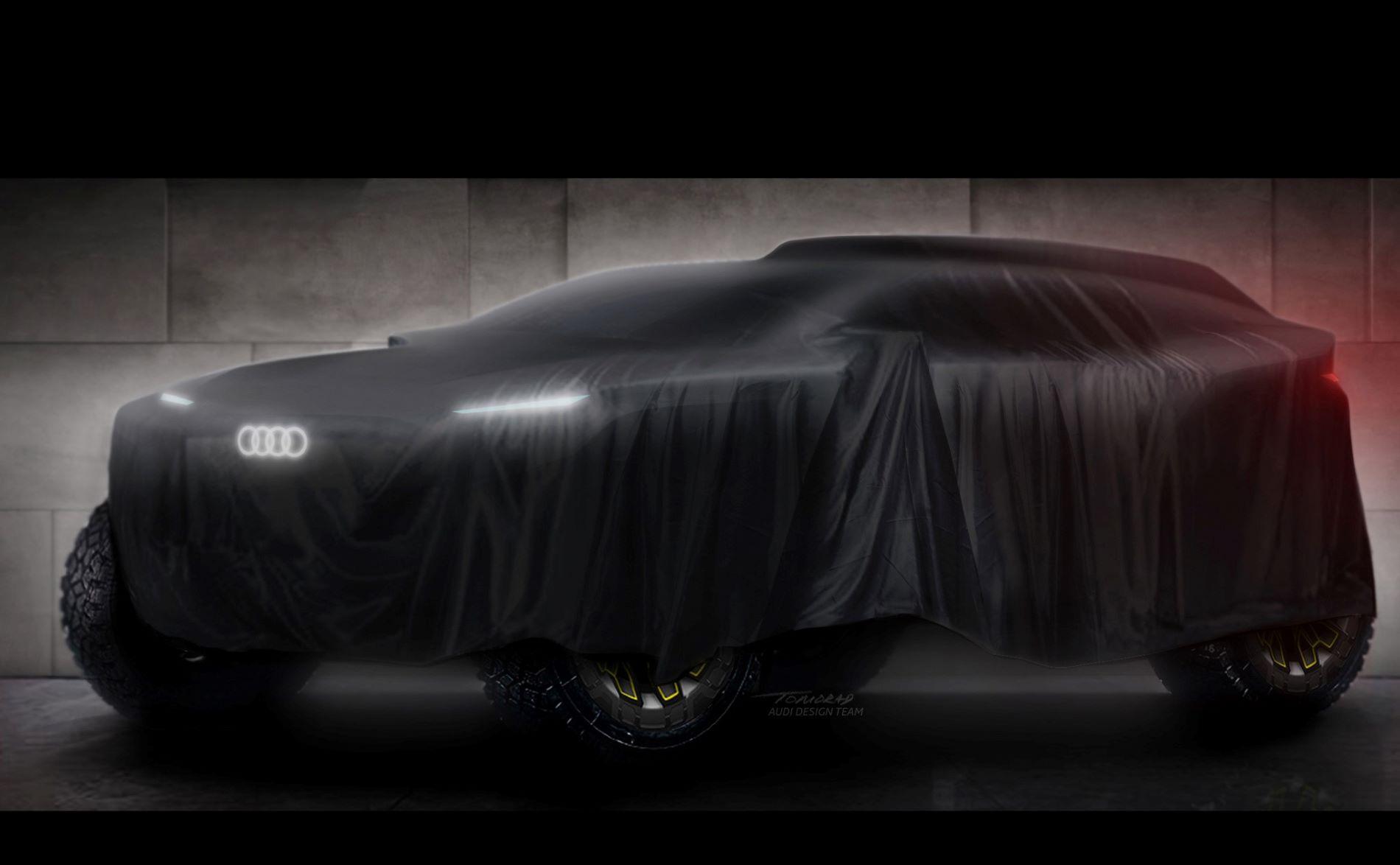 Audi Electric Prototype Dakar