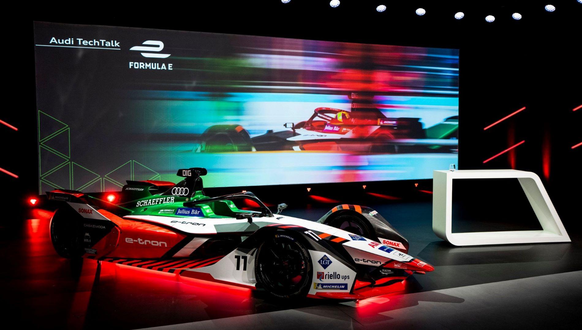 Audi E Tron Fe07 Formula E