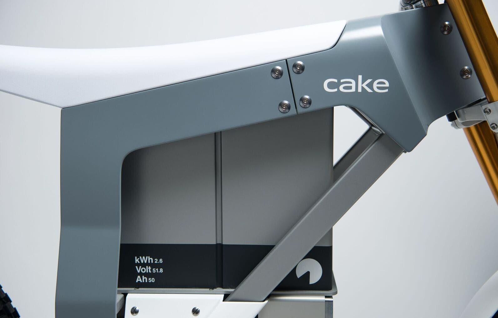 Cake Kalk O Electric Motorcycle Battery