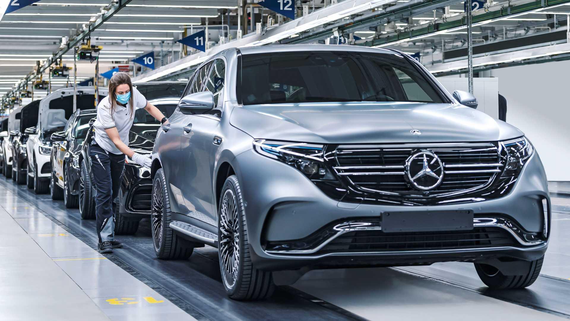 Mercedes Benz Eqc Production Bremen