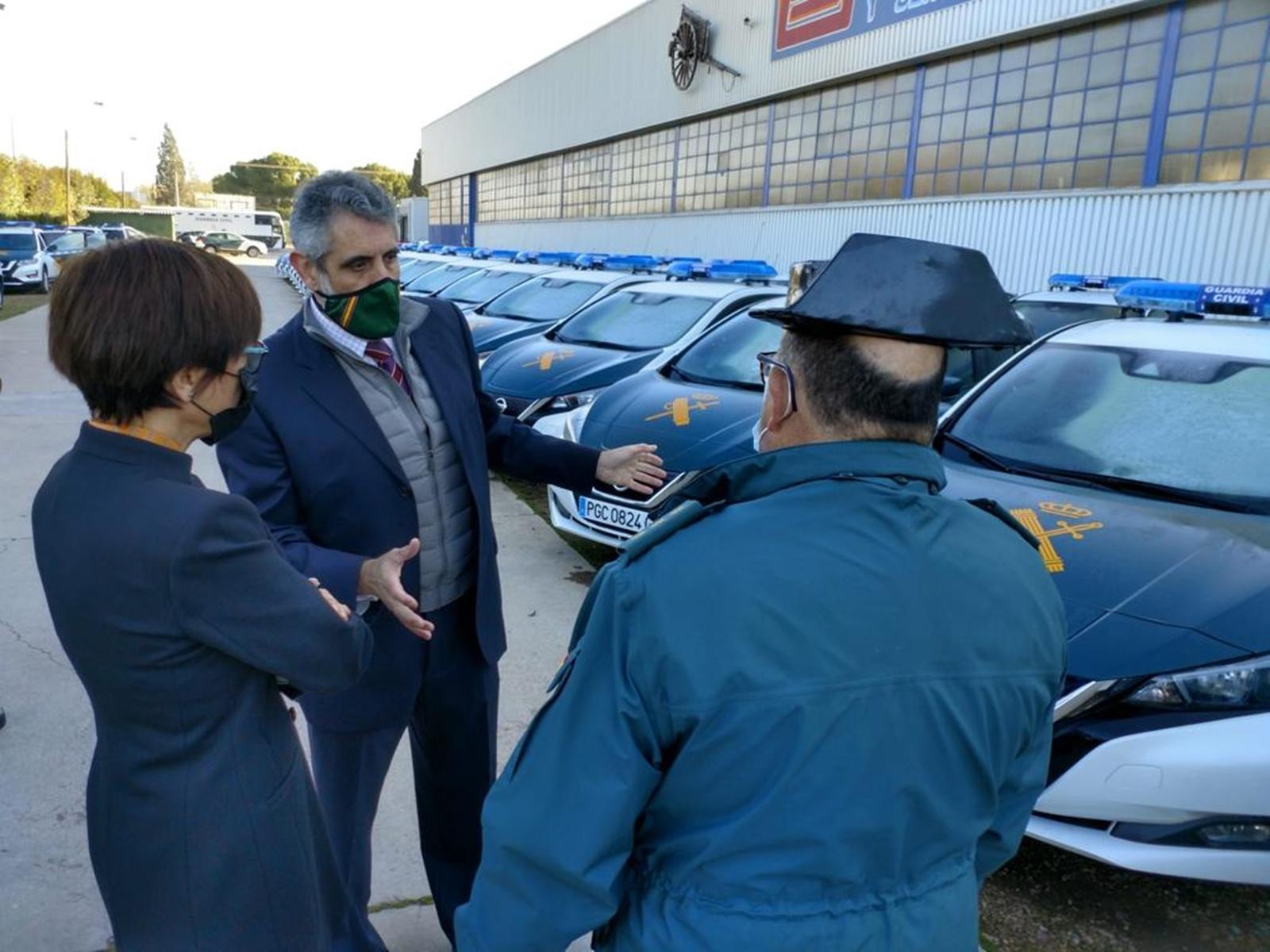 Nissan Leaf De La Guardia Civil