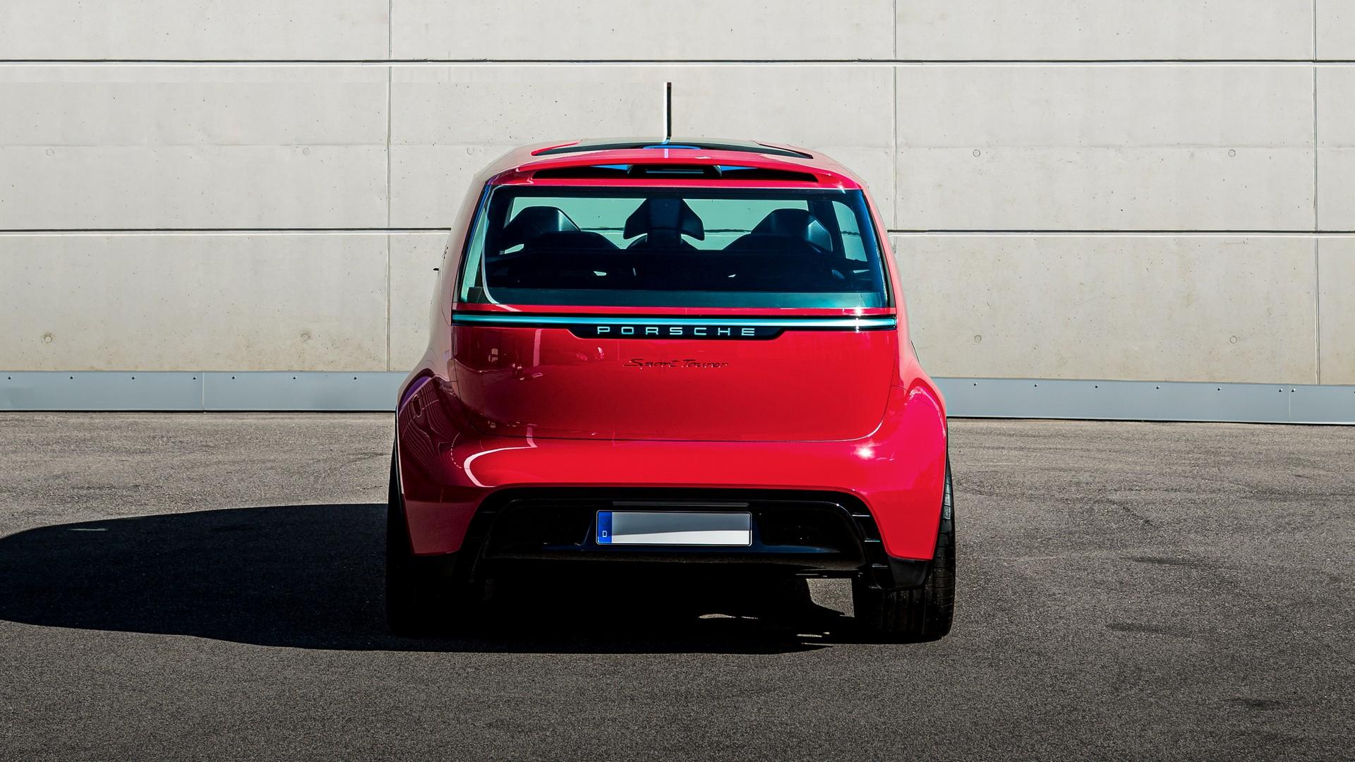 Porsche Renndienst Concept Back