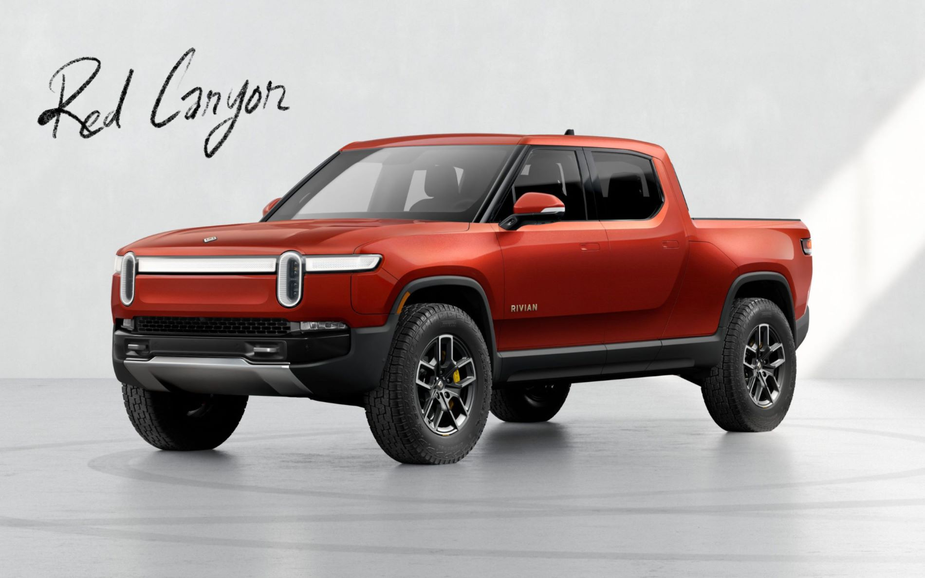 Rivian R1t Red Canyon