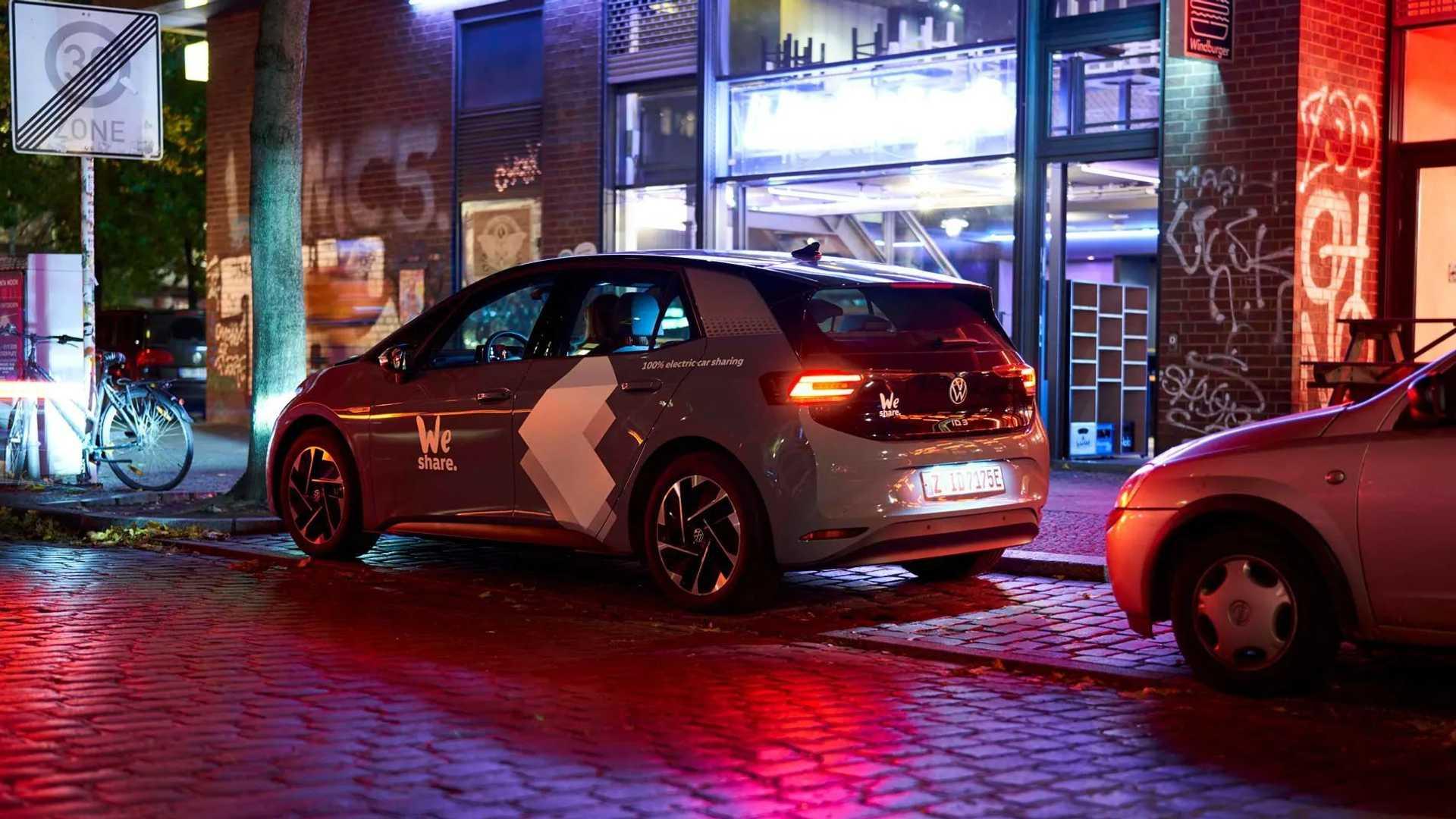 Volkswagen Weshare Berlin Id3 Parked