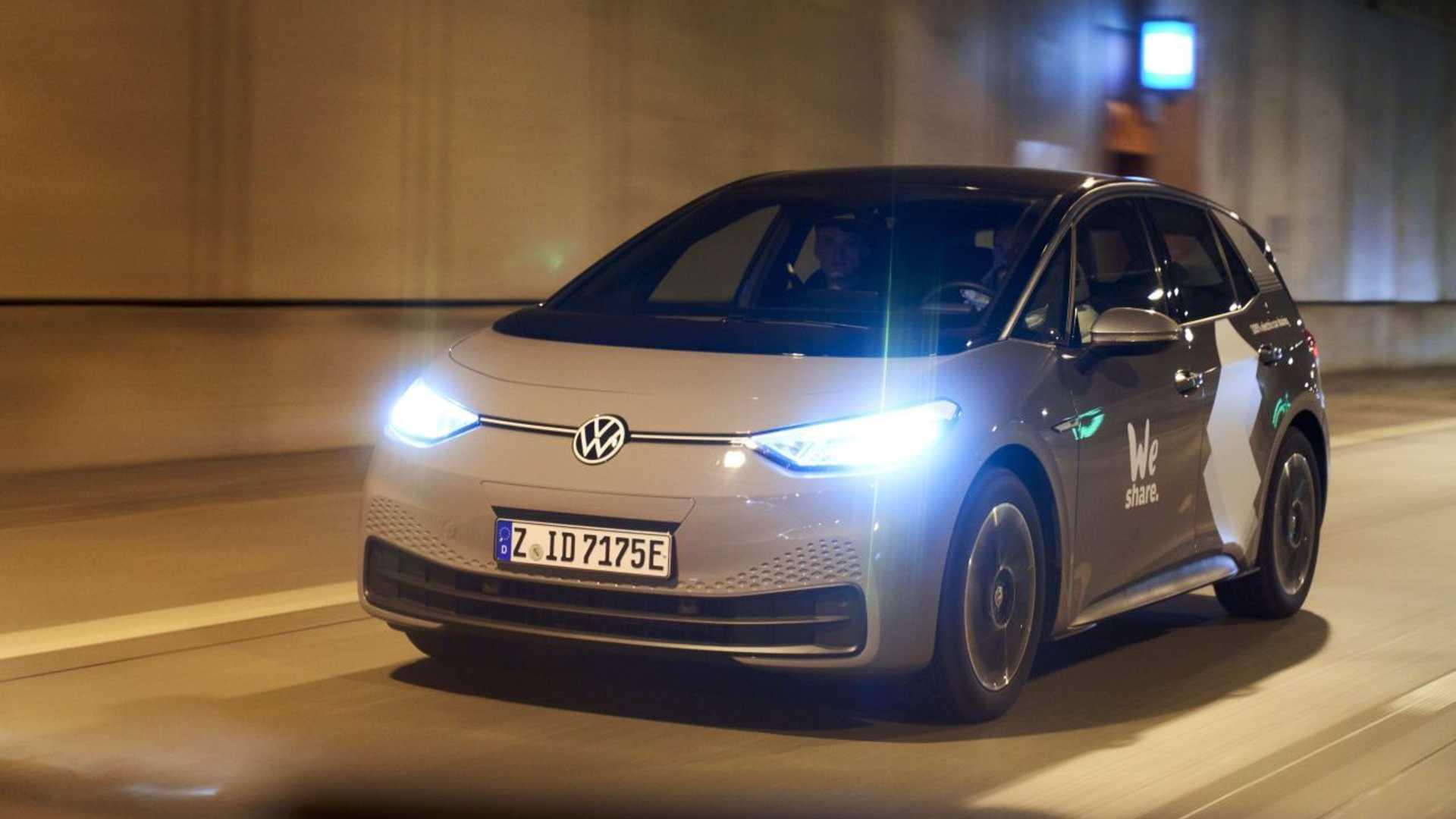 Volkswagen Weshare Berlin Id3 Street