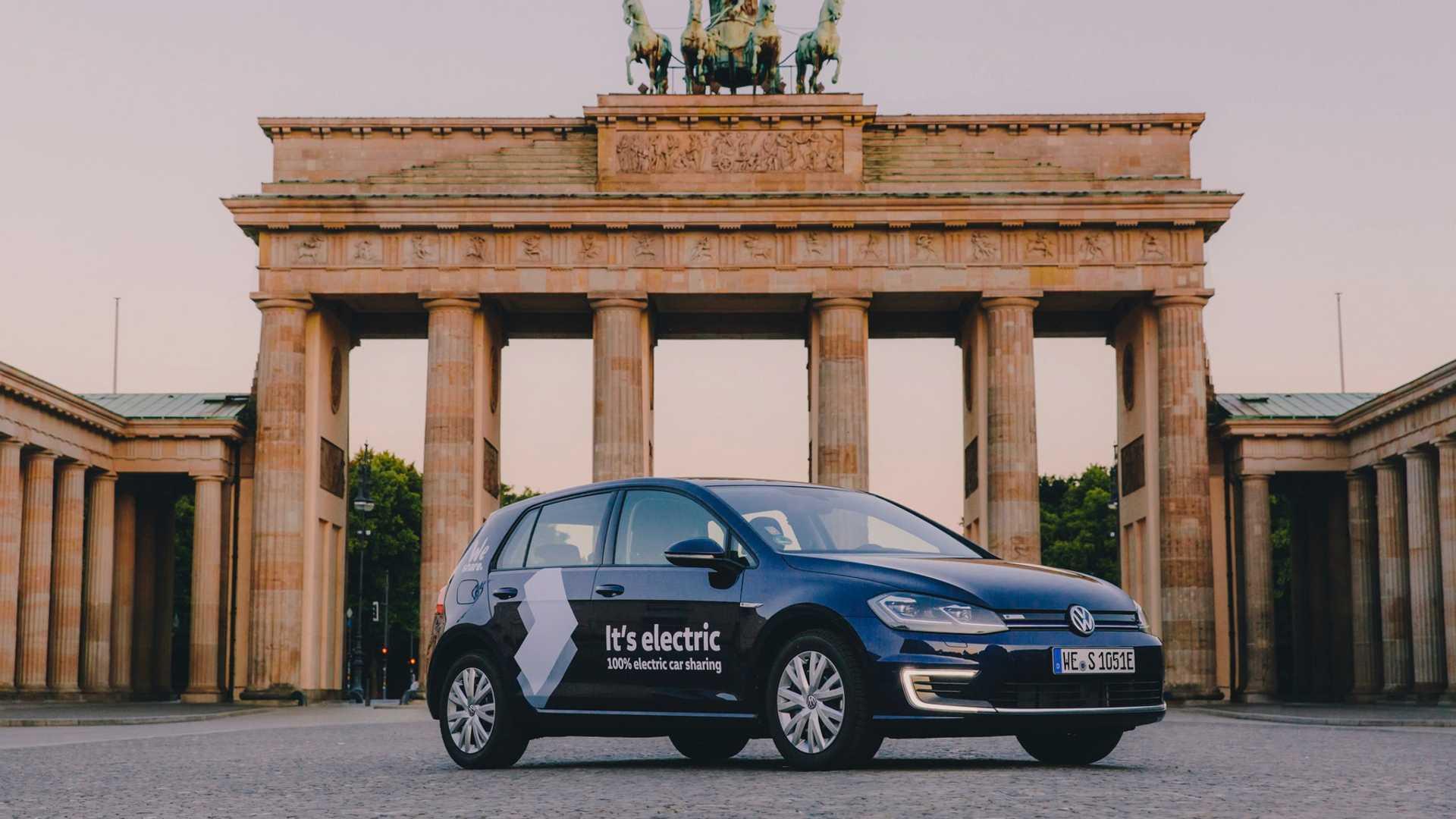 Volkswagen Weshare Berlin Egolf