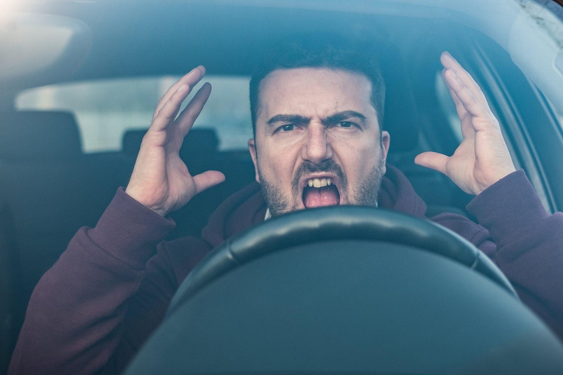 Conductor Enfado Estrés