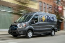 La Ford e-Transit presentada avanza el futuro eléctrico de la popular furgoneta