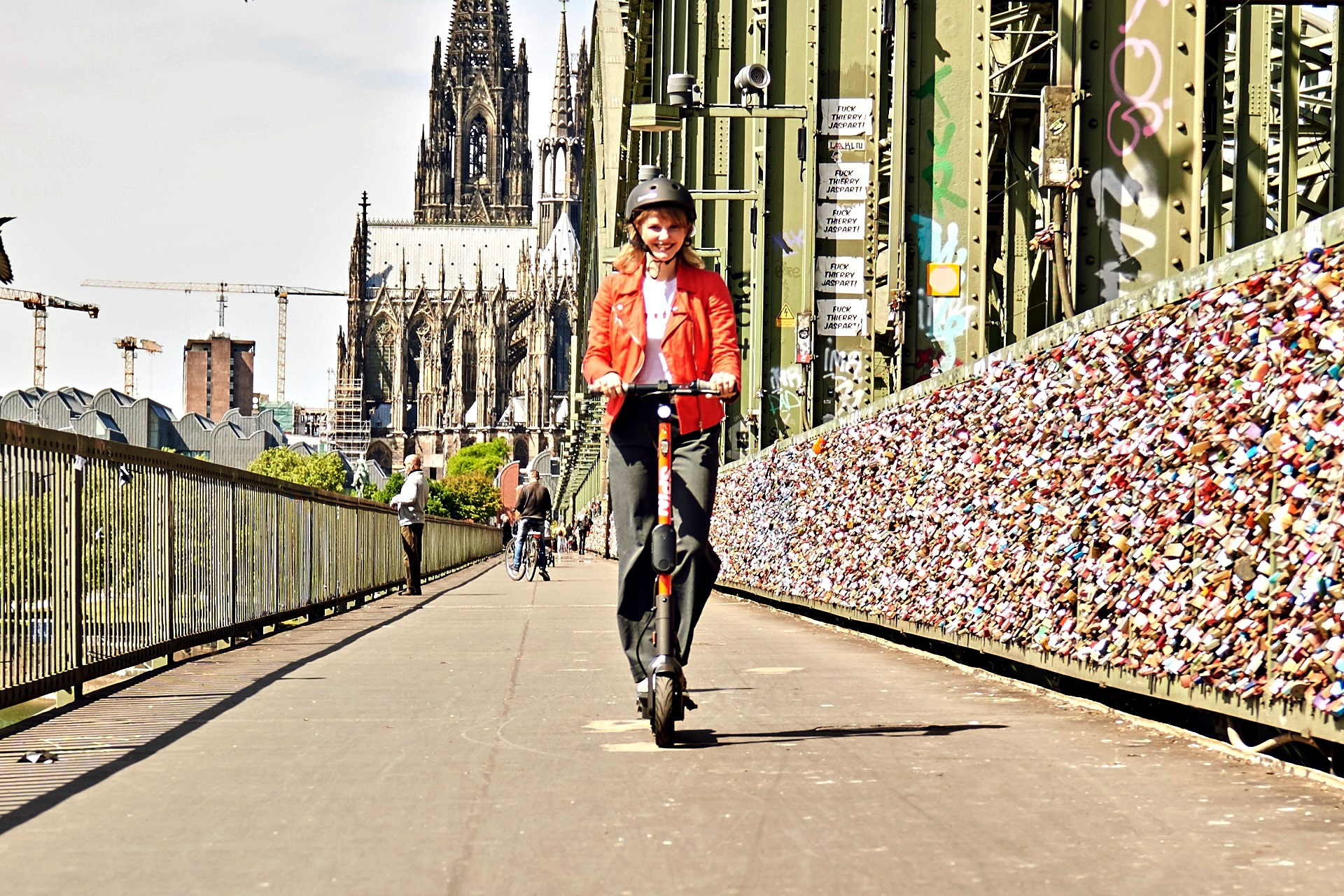 Spin Launch In Cologne, Germany