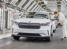 Skoda planea producir unas 300 unidades del SUV eléctrico Enyaq iV al día