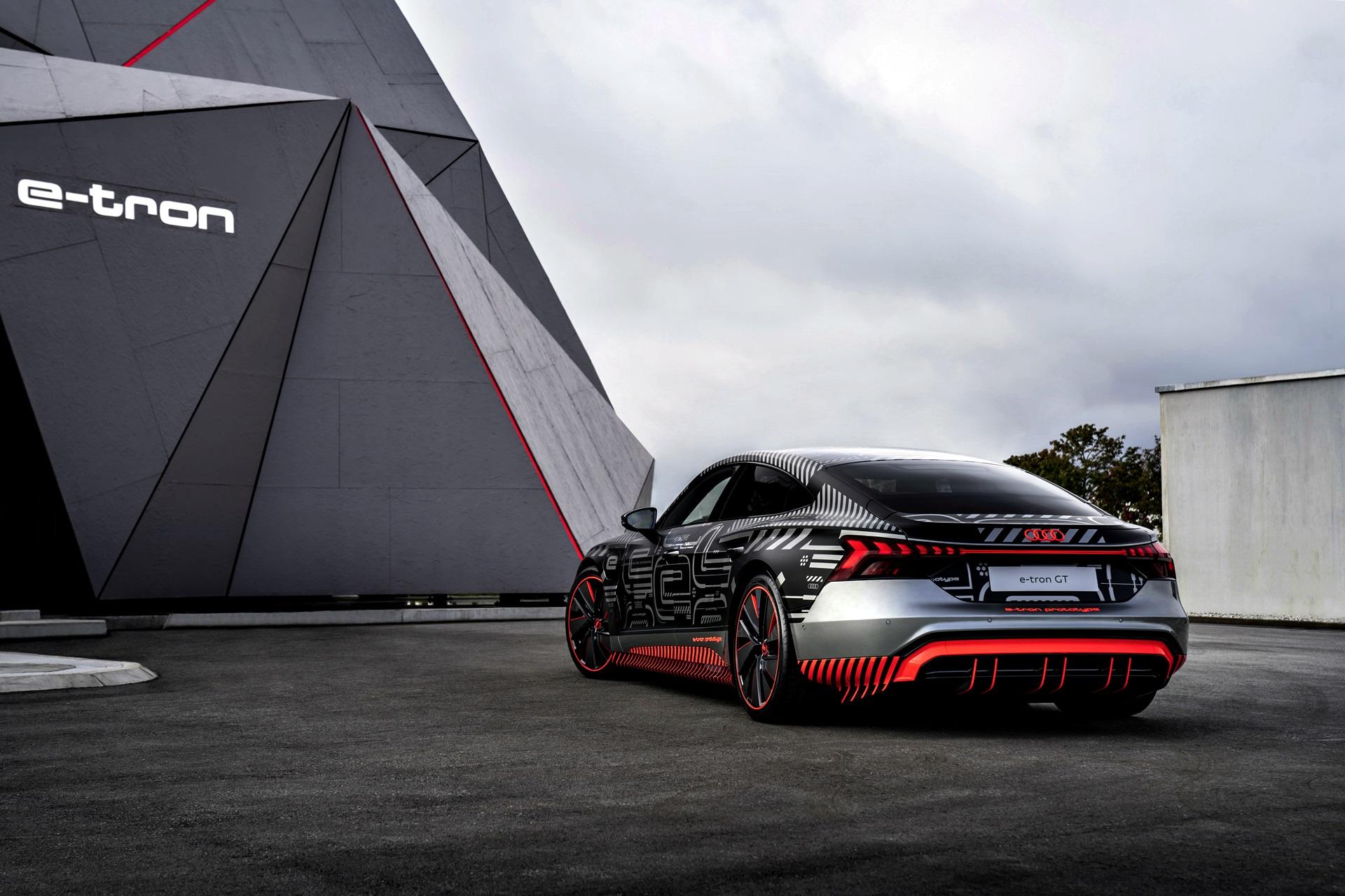Audi Rs E Tron Gt Prototype