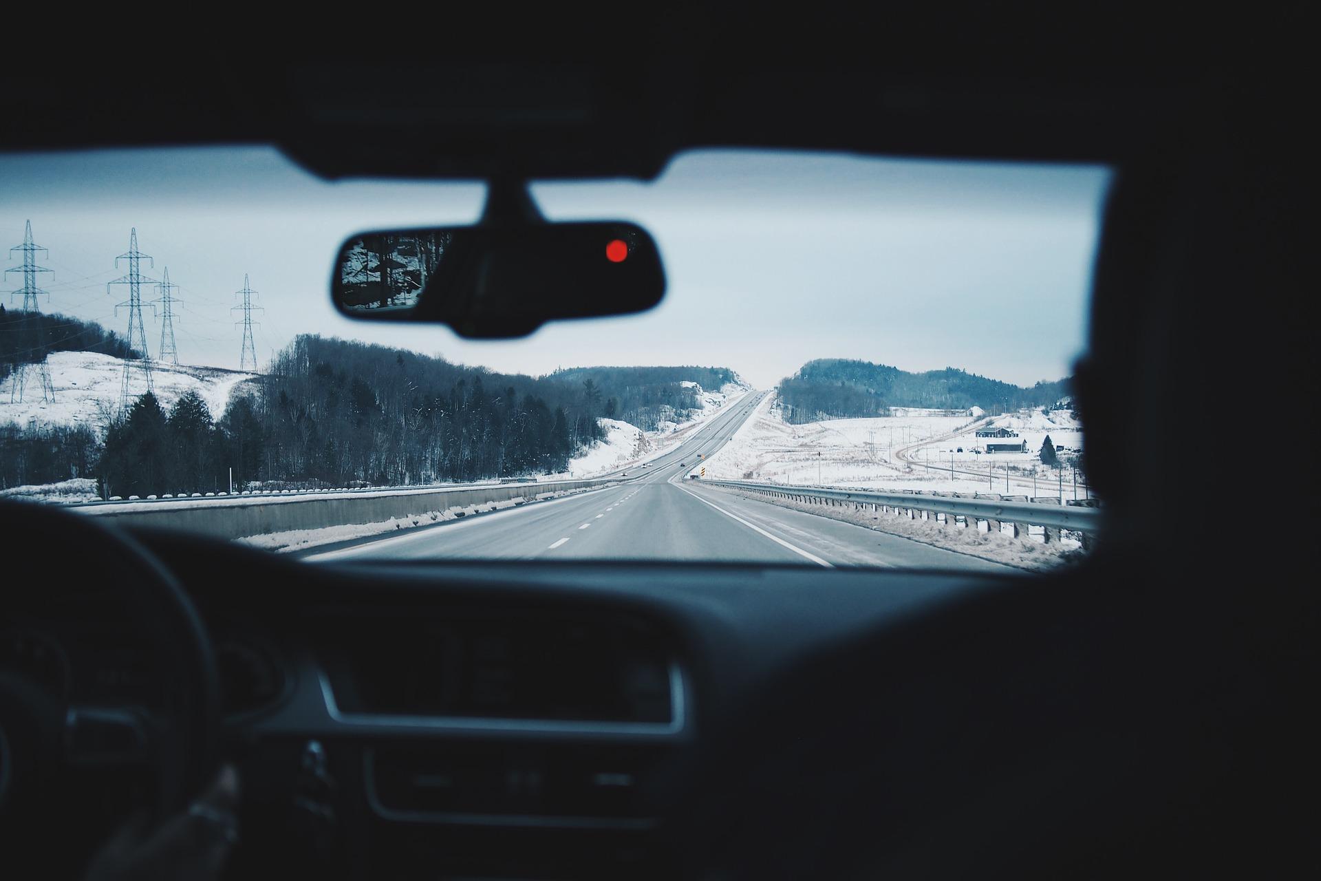 Conduccion Invierno Carretera