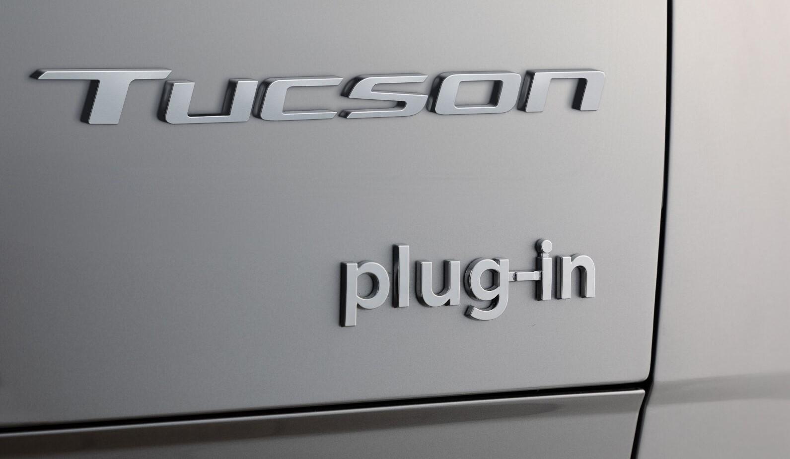 Hyundai Tucson Phev Badge