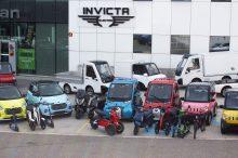 Invicta Electric presenta su oferta de vehículos eléctricos para la nueva movilidad