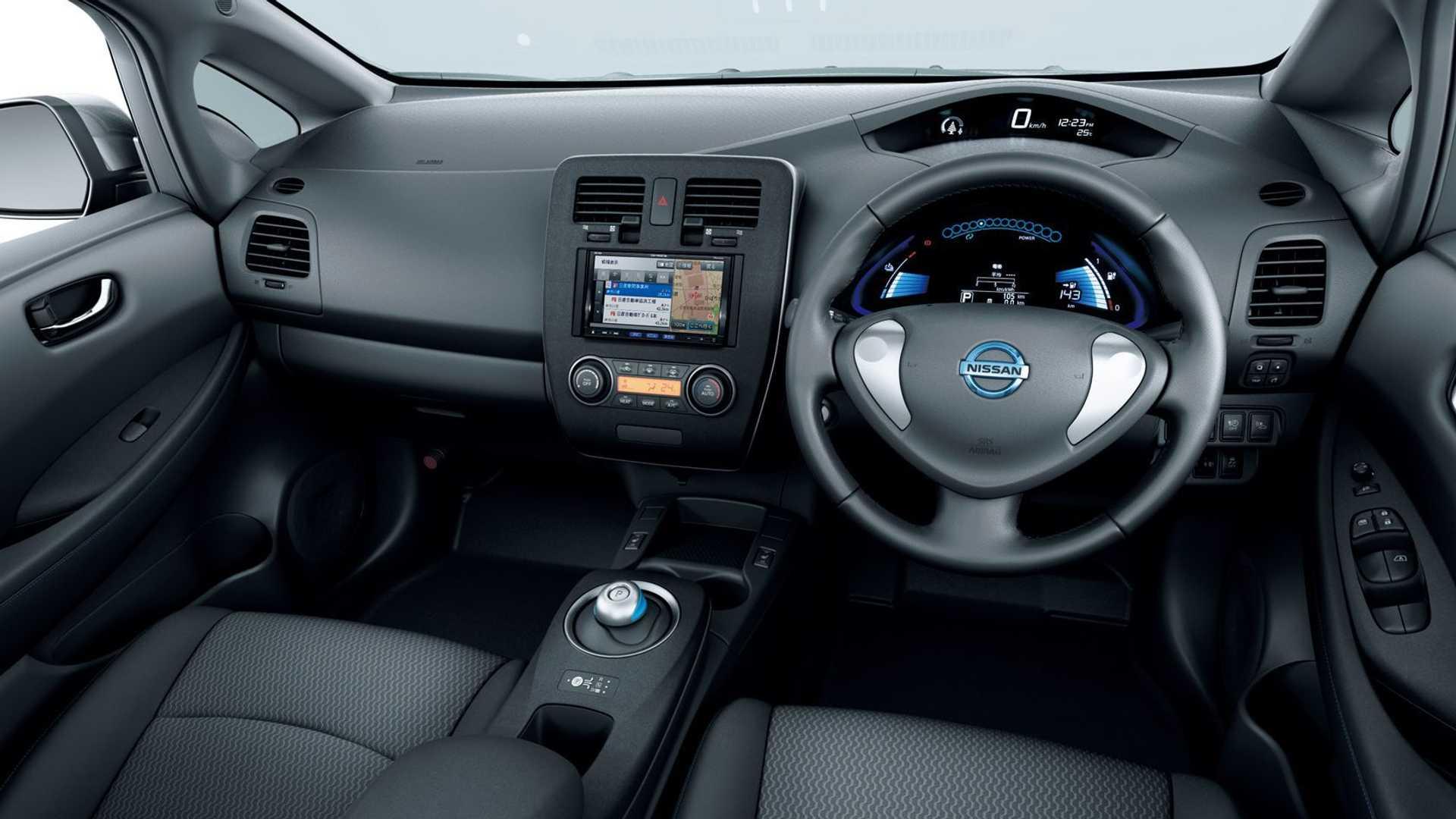 Nissan Leaf 2010 First Gen Interior