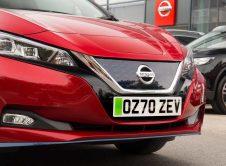 Nissan Leaf Green Plate Uk Front
