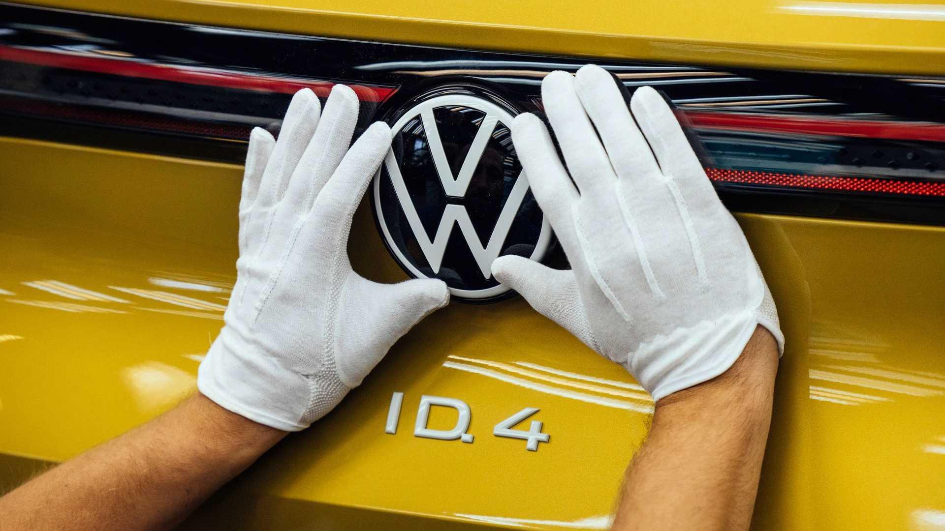 Volkswagen Id 4 Badge