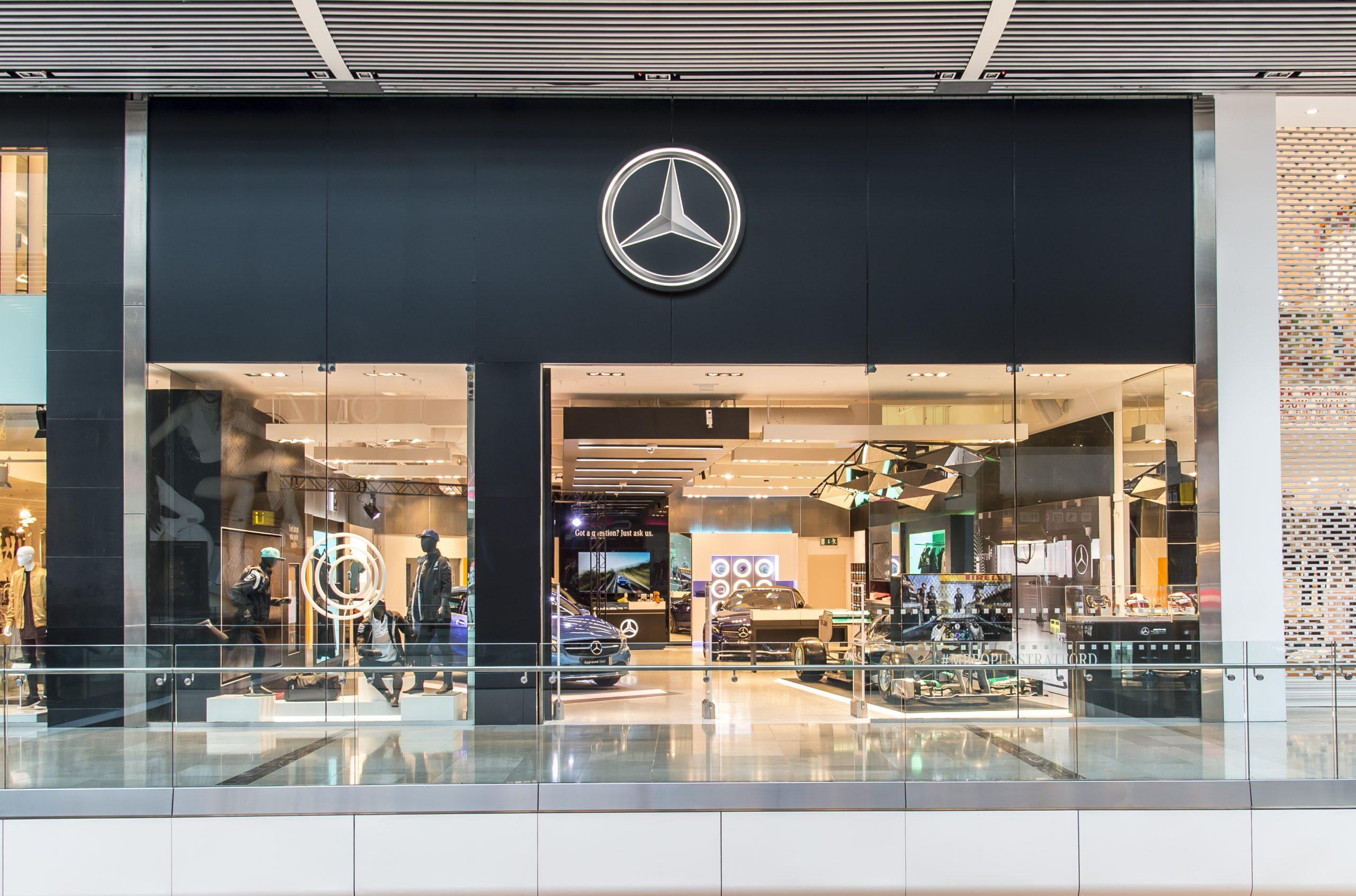 Concesionario Show Room Mercedes