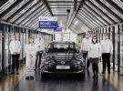 Volkswagen despide al último Volkswagen e-Golf salido de Dresden