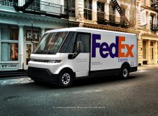 Brightdrop Ev600 With Fedex Express Branding