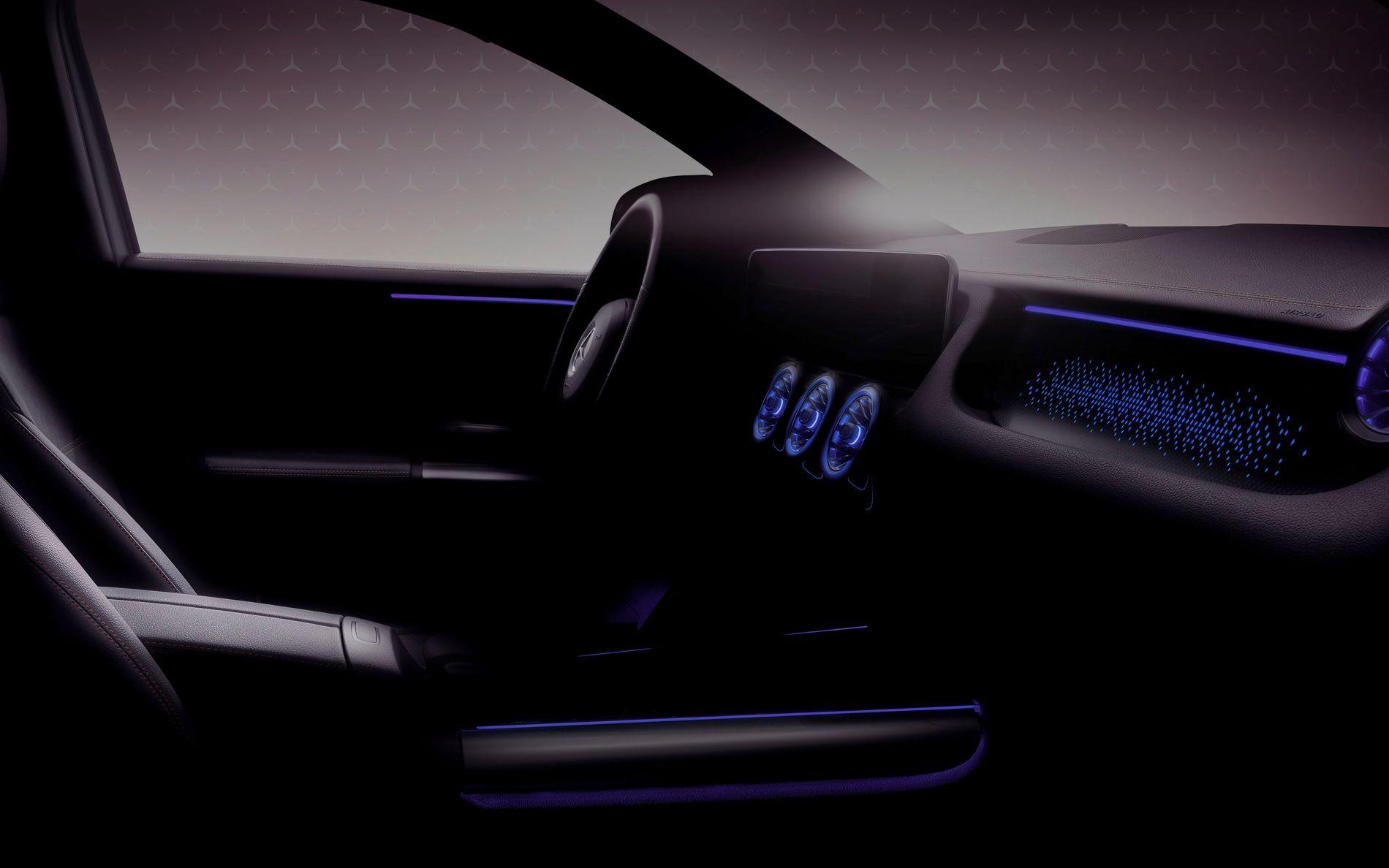 Mercedes Benz Eqa Interior