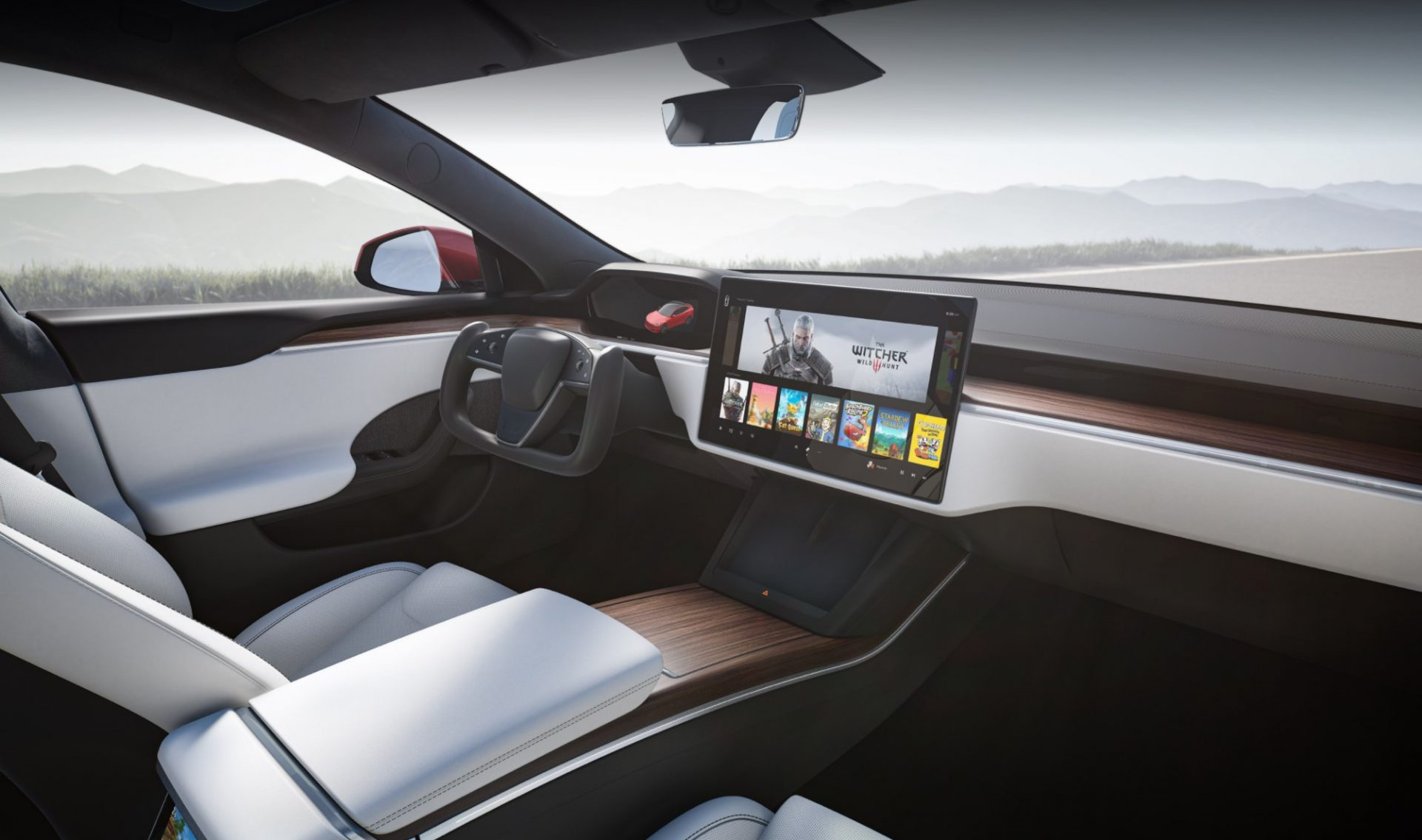 Tesla Model S New Interior